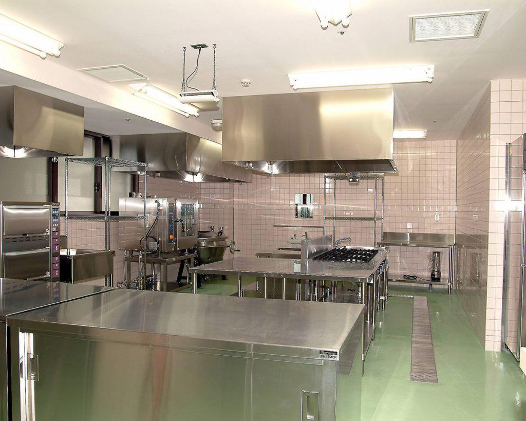 厨房設備の工事