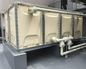 高架水槽・受水槽の工事