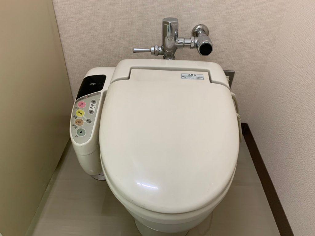 ウォシュレット交換 岡常ビル 東京都中央区 R-19005