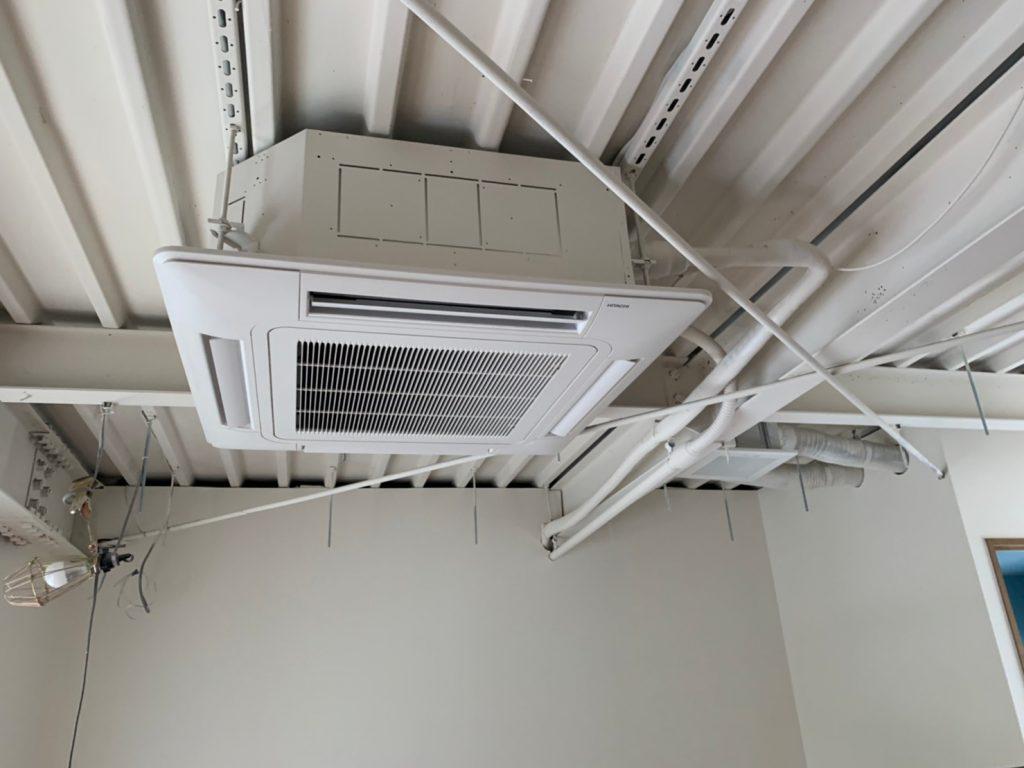空調換気設備新設 千住美容室 東京都足立区 R-20040