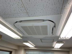 空調機更新工事 洞口ビル 東京都杉並区
