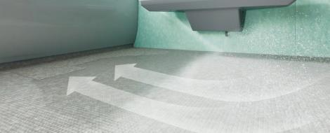 床ワイパー洗浄・きれい除菌水(オプション) サザナ/WY シリーズ