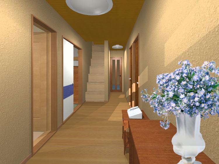 のび太の家の玄関・廊下