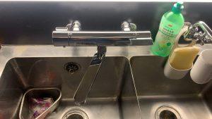 水栓更新工事 某Bar 東京都杉並区
