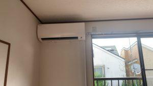 エアコン設置工事 都内某アパート 東京都足立区