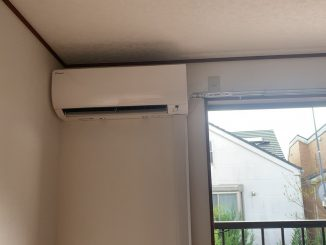 空調機設置工事 都内グループホーム施設 東京都日野市