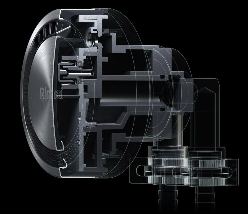 マイクロバブルバスユニット機構