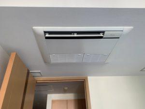 空調機更新工事|東京都渋谷区 マンション居室